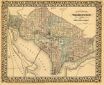 Plan of the city of Washington: the capitol of the United States of America