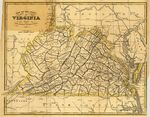 Map of the state of Virginia: from the latest authorities