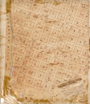 Cadastral map of Tampa, 1853