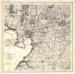 Road map of Hillsborough County, Florida