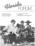 Forum : Vol. 09, No. 03 (Fall : 1986) by Florida Humanities Council., Philip Momberger, Xavier L. Suarez, and David A. Kaufelt