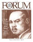 Forum : Vol. 15, No. 02 (Fall : 1991) by Florida Humanities Council., Sheldon R. Isenberg, Louis H. Pratt, Joan S. Carver, and Deborah G. Johnson