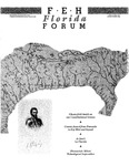 Forum : Vol. 11, No. 1-2 (Spring-Summer : 1988) by Florida Humanities Council., Chesterfield Smith, George E. Beauchamp, and Jerald T. Milanich