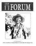 Forum : Vol. 13, No. 1-2 (Spring-Summer : 1990)
