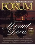 Forum : Vol. 22, No. 01 (Winter : 1999) by Florida Humanities Council., Peter Meinke, Jeanne Meinke, and Stephen Dowell