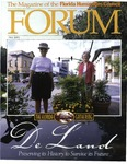 Forum : Vol. 24, No. 02 (Fall : 2001) by Florida Humanities Council., Mark Derr, Gary Monroe, and Gary Ross Mormino