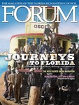 Forum : Vol. 36, No. 01 (Spring : 2012) by Florida Humanities Council., Barbara O'Reilley, Jon Wilson, Sharon Bond, Luis Martinez-Fernandez, Peter B. Martinez-Fernandez, William Culyer Hall, and Lani Friend
