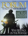 Forum : Vol. 18, No. 02 (Summer : 1995) by Florida Humanities Council., John V. Lombardi, Robert E. Bauman, Jacob Neusner, Harry A. Kersey Jr., Gerald E. Poyo, William R. Jones, Thomas T. Ankersen, and Maria D. Vesperi