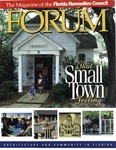 Forum : Vol. 20, No. 01 (Summer : 1997) by Florida Humanities Council., Vincent Scully, Rick Edmonds, Benjamin R. Barber, Robert S. Davis, Daniel Kemmis, Joel Embry, John Moran, Kim Tanzer, Elizabeth Plater-Zyberk, and Beth Dunlop