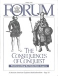 Forum : Vol. 15, No. 01 (Spring : 1992)