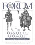 Forum : Vol. 15, No. 01 (Spring : 1992)