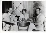 JWB Photograph : Leonard W. Cooperman at table
