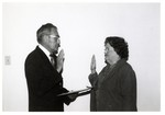 JWB Photograph : Swearing In at Board Meeting