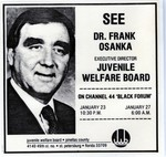 JWB Photograph : Frank Osanka television advertisement by Juvenile Welfare Board of Pinellas County.