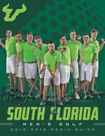 2018-2019 Men's Golf Media Guide by University of South Florida