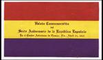 [Program] - Velada commemorativa del sexto aniversario de la República Española by Centro Asturiano de Tampa and Spain. Consulado (Tampa, Fla.)
