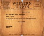 Telegram, 1936, Aug. 20, Tampa, to José Giral