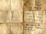 Letter - 1937 Aug. 2, New York, to José Martinez, verso