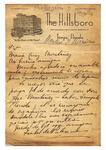 Letter, 1936 Nov., Tampa, to María Cruz Martínez