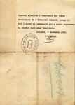 Letter, 1936 Sept. 7, Palamós, Spain, to Comité de Milicies Antifeixistes de Palamós