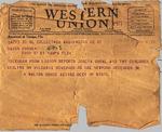 Telegram, 1936 Nov. 27, Washington, D.C., to Ramón Oural