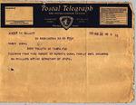 Telegram - 1936 Aug. 22, Washington, D.C., to Ramón Oural