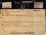 Telegram, 1936 Sept. 14, Washington, D.C., to Ramón Oural