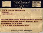 Telegram, 1936 Nov. 21, Washington, D.C., to Ramón Oural