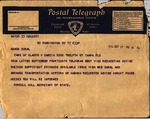 Telegram, 1936 Sept. 17, Washington, D.C., to Ramón Oural