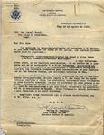 Letter, 1936 Aug. 19, Vigo, Spain, to Josefa Oural