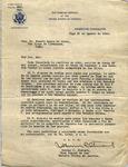 Letter, 1936 Aug. 31, Vigo, Spain, to Josefa Oural