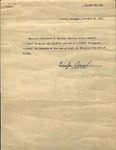 Statement - 1936, Nov. 26, Lisbon, Portugal