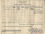 [Government form] - Exchange voucher