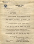 Letter, 1937 Jan. 11, Washington, D.C., to Ramón Oural by Harry A. Havens and Ramón Oural
