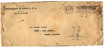 Envelope - Department of State, U.S.A., addressed to Ramón Oural