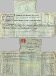 Telegram, 1936 Oct. 17, Vigo, Spain, to Josefa Oural