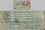 Telegram, 1936 Aug. 19, Vigo, Spain, to Josefa Oural