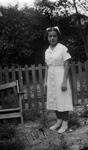 Photograph - Alice Menéndez dressed as nurse