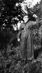 Photograph - Jerry Rodriguez dressed as miliciano