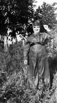 Photograph - Clara Menéndez Garcia dressed as miliciana