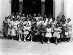Photograph - Women of the Popular Democratic Committee to Aid Spain with Gen. Santiago Philimore