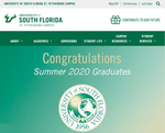 Website USF St. Petersburg campus July 2020 by University of South Florida St. Petersburg