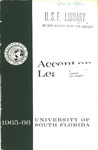 Accent on learning [1965] by University of South Florida