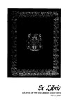 Ex libris: journal of the USF Library Associates [Vol. 3, no. 3 (winter 1980).] by University of South Florida