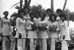 Alpha Kappa Alpha sorority members in 1972