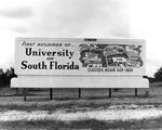 Billboard advertising opening of USF