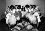 Cheerleaders at USF, circa 1972