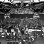 Commencement ceremonies in 1992
