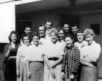 Employees of USF Library in 1959