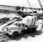 Construction site at Tampa campus, circa 1959